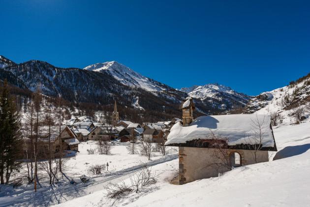 Station village de Névache