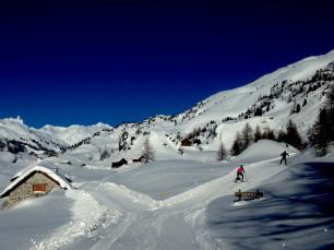 Ski de Fond à Névache