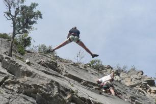 Escalade dans la Vallée de la Clarée