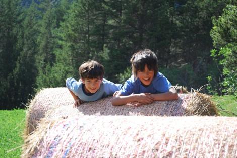 Enfants en vallée de la Clarée